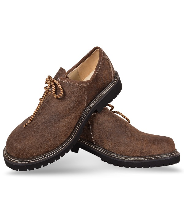 German Lederhosen Shoes Brown