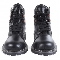 Men's Lederhosen Shoes Long Black