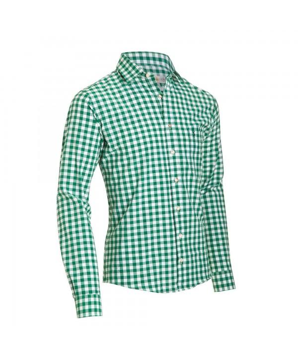 Bavarian Slim Shirt Pine Green