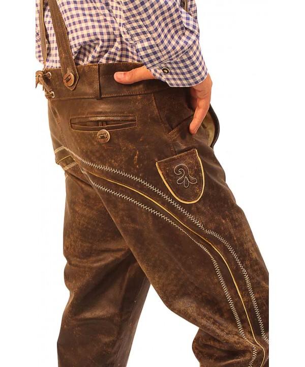 Knee Length Bundhosen Wild Brown