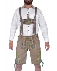 Authentic Herren German Lederhosen Beach