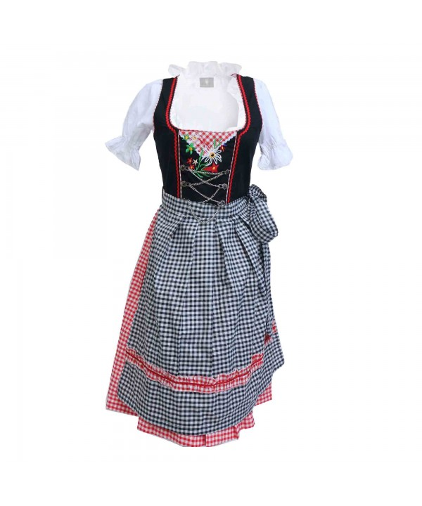 Vintage Dirndl Elsa Cherry Black