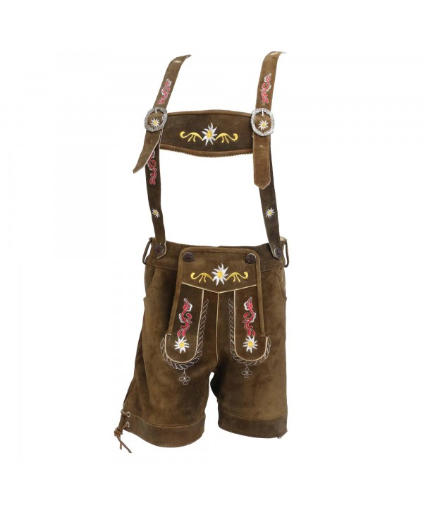 Floral Womens German Lederhosen Embroidered