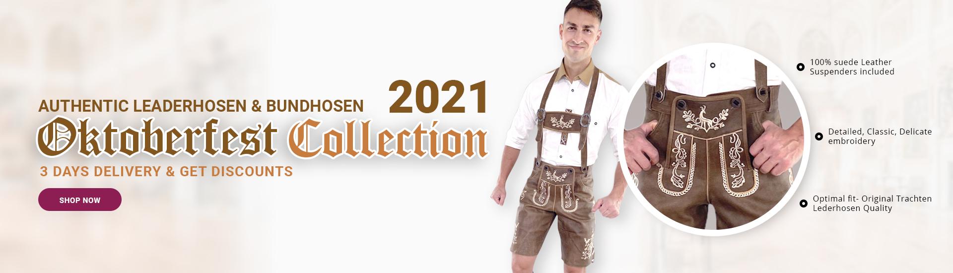 Oktoberfest Collection 2021 Lederhosen